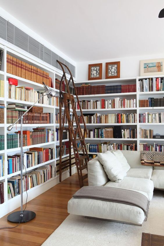 Contemporary Home Library Design: Books, Libraries, Reading Spaces, Etc... Contemporary