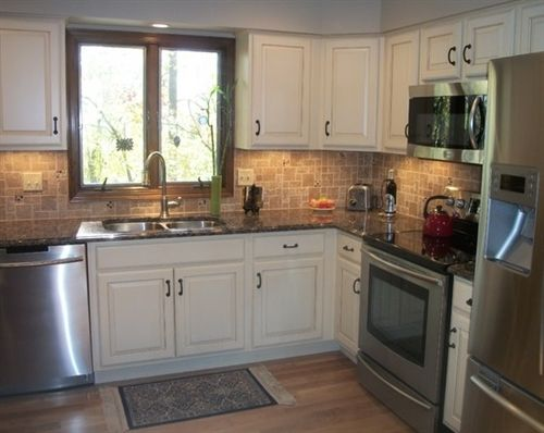 Baltic Brown Granite With White Cabinets Google Search Kitchen