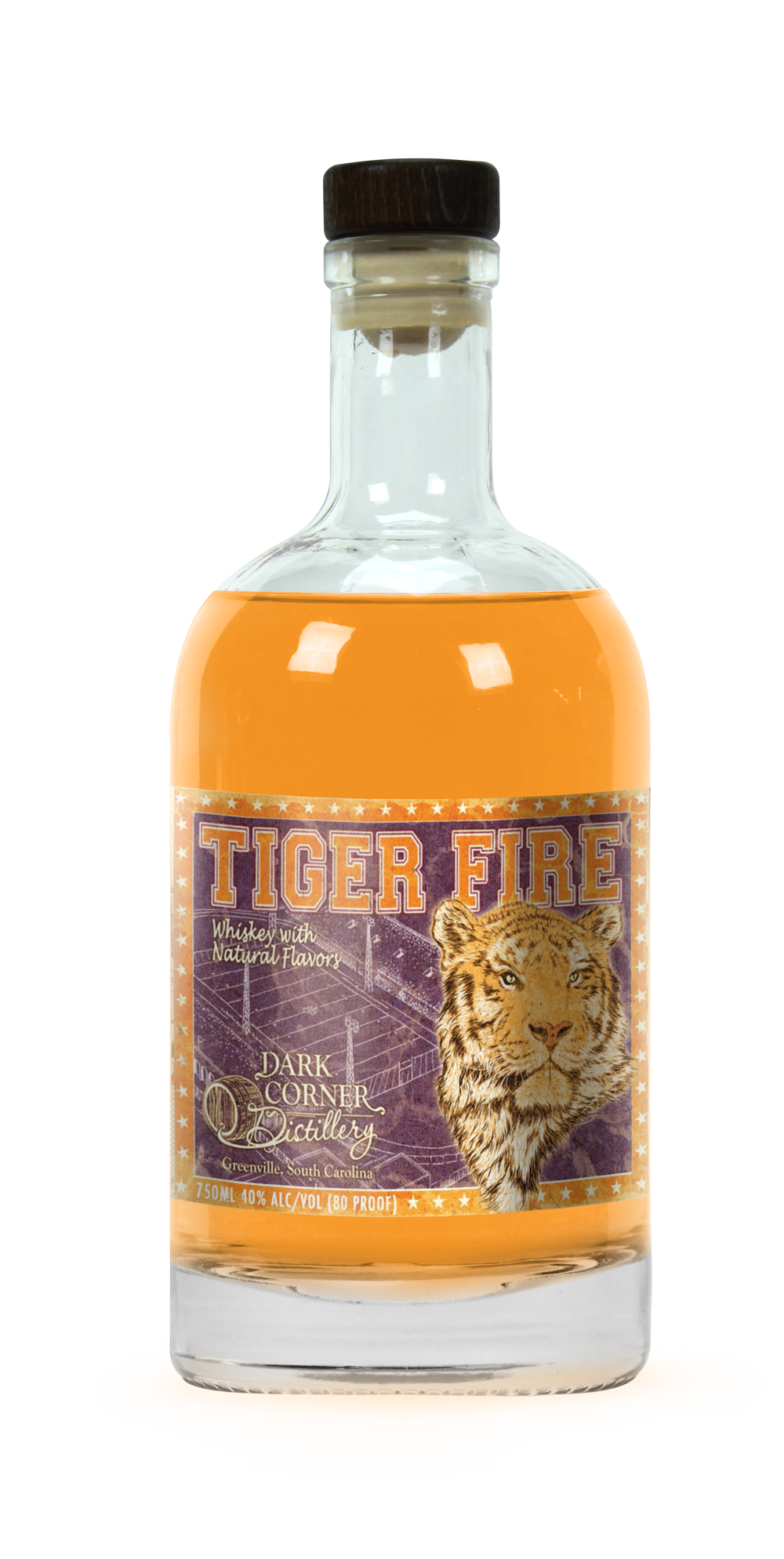 90c9a8f2fbe Gear up for your perfect Clemson tailgate with a bottle of Tiger Fire. An  orange punch flavored whiskey that you won t even have to mix.