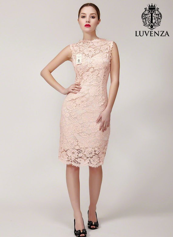 151b76c49aba Fitted Short Floral Lace Cocktail Dress  Tight Corded Floral Lace Sheath  Dress  Short Fitted Lace Pr
