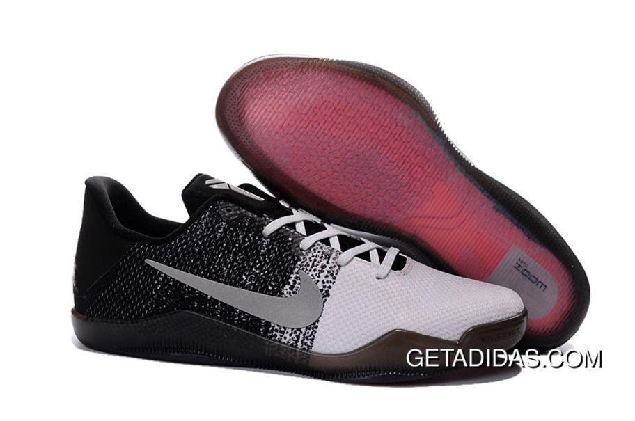 Nike Kobe 11 White Black Grey TopDeals