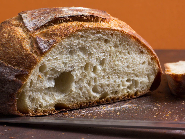 Simple Crusty White Bread | Recipe | White bread recipe ...
