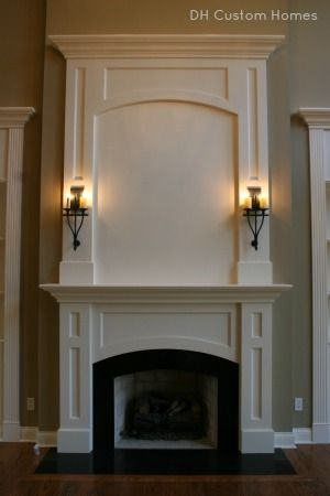 Fireplace Design By Dh Custom Homes Fireplace