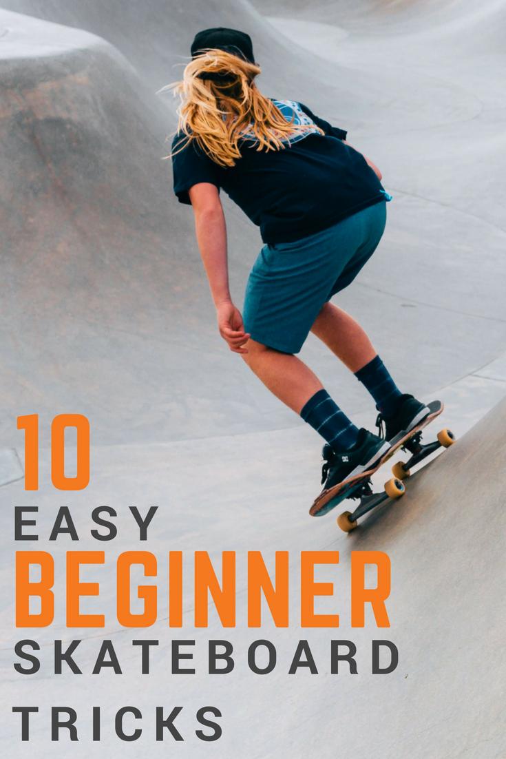 10 Easy Beginner Skateboard Tricks Featuring Vlskate Beginner Skateboard Skateboard Skateboarding Tricks