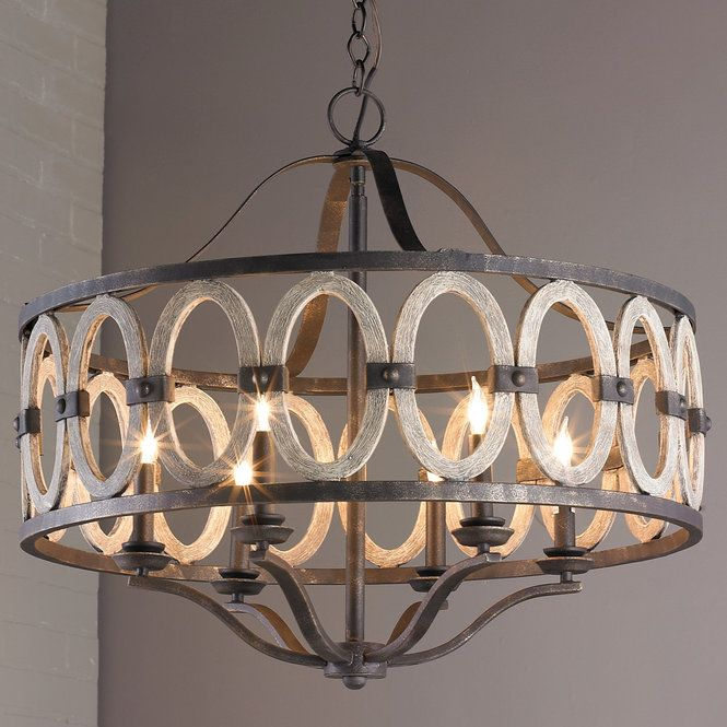 Driftwood Entwined Ovals Chandelier Driftwood Chandelier Dining Room Light Fixtures Rustic