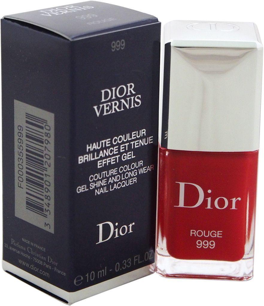 Christian Dior - Dior Vernis Nail Lacquer - # 999 Rouge Nail Polish