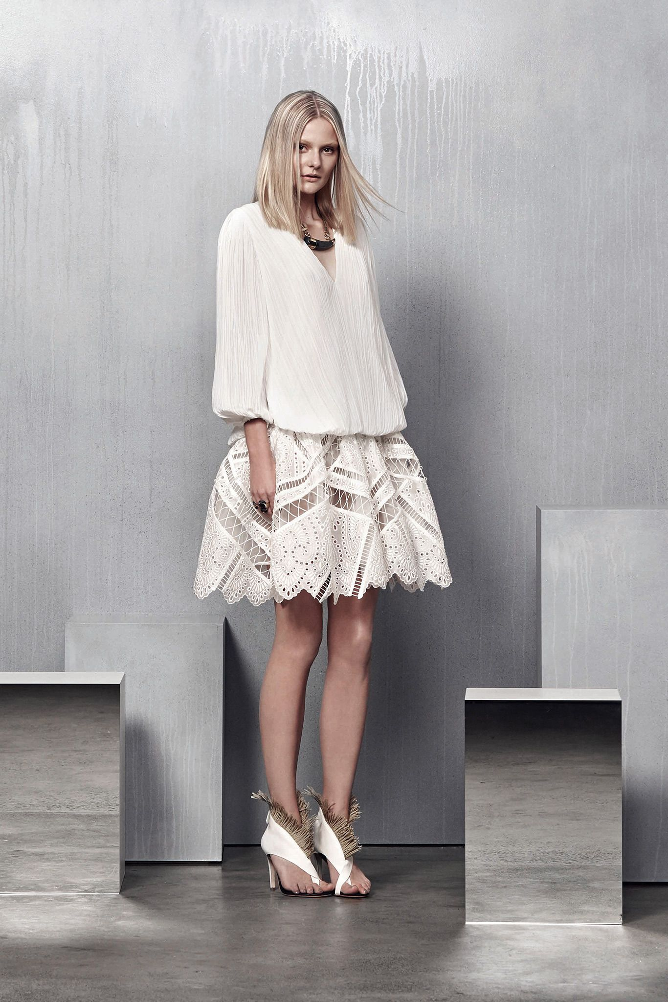 Zimmermann resort look of fashion for women