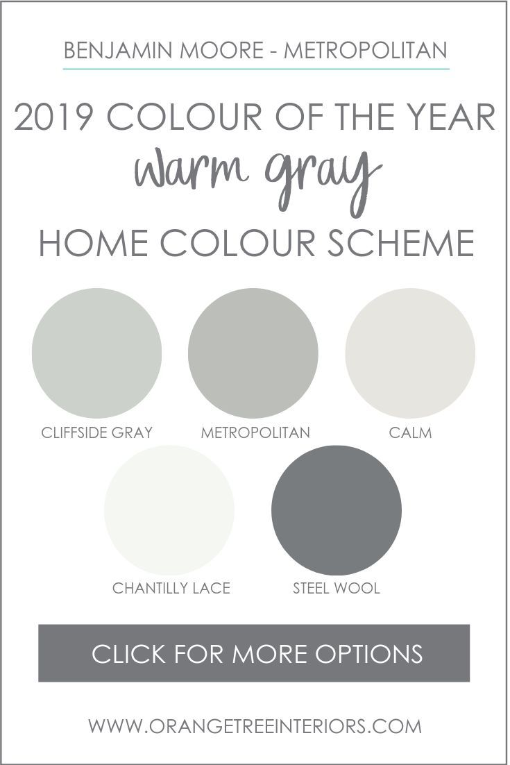Benjamin Moore 2019 Colour of the Year Paint Colour Schemes
