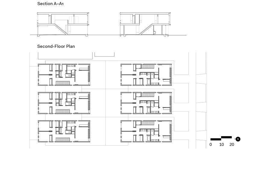 Oak Park Housing Architect Magazine Johnsen Schmaling Architects Sacramento Ca Multifamily Residential Projects Floor Plans Oak Park Architect Magazine
