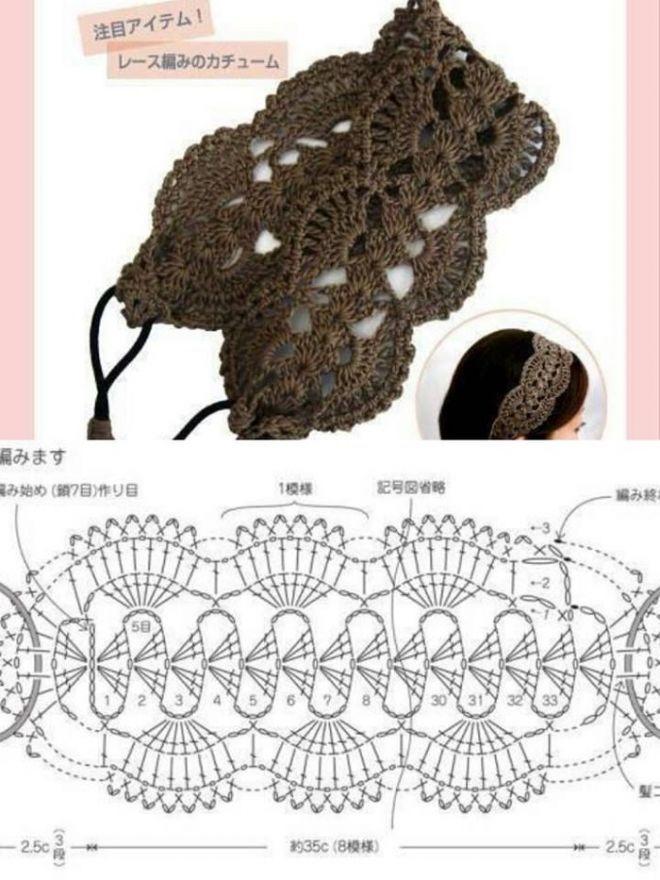 крючок со схемами   Crochet   Pinterest   Ramillete, Accesorios para ...