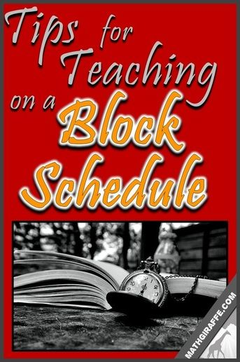 teaching on a block schedule