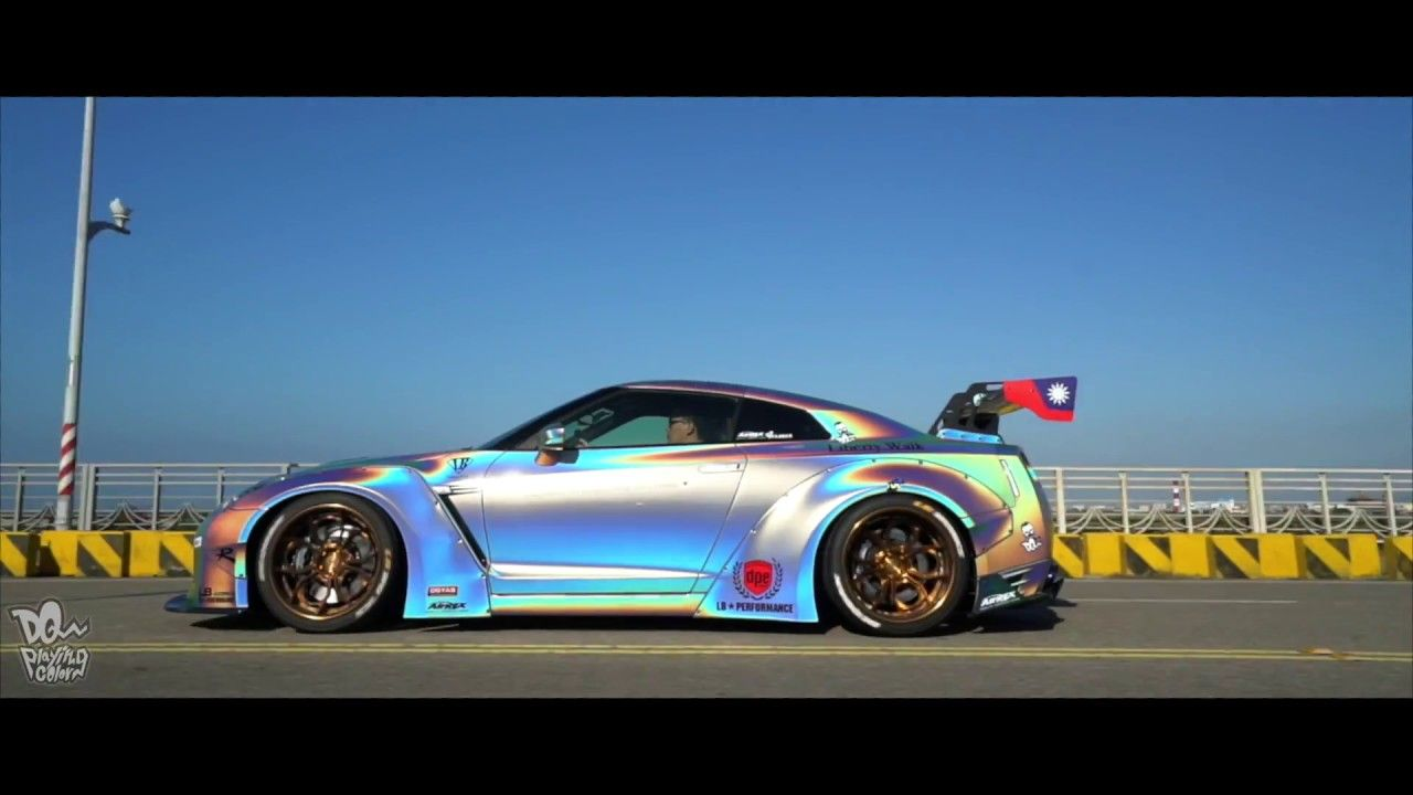 Liberty Walk Nissan GTR R35 LB☆ In Taiwan