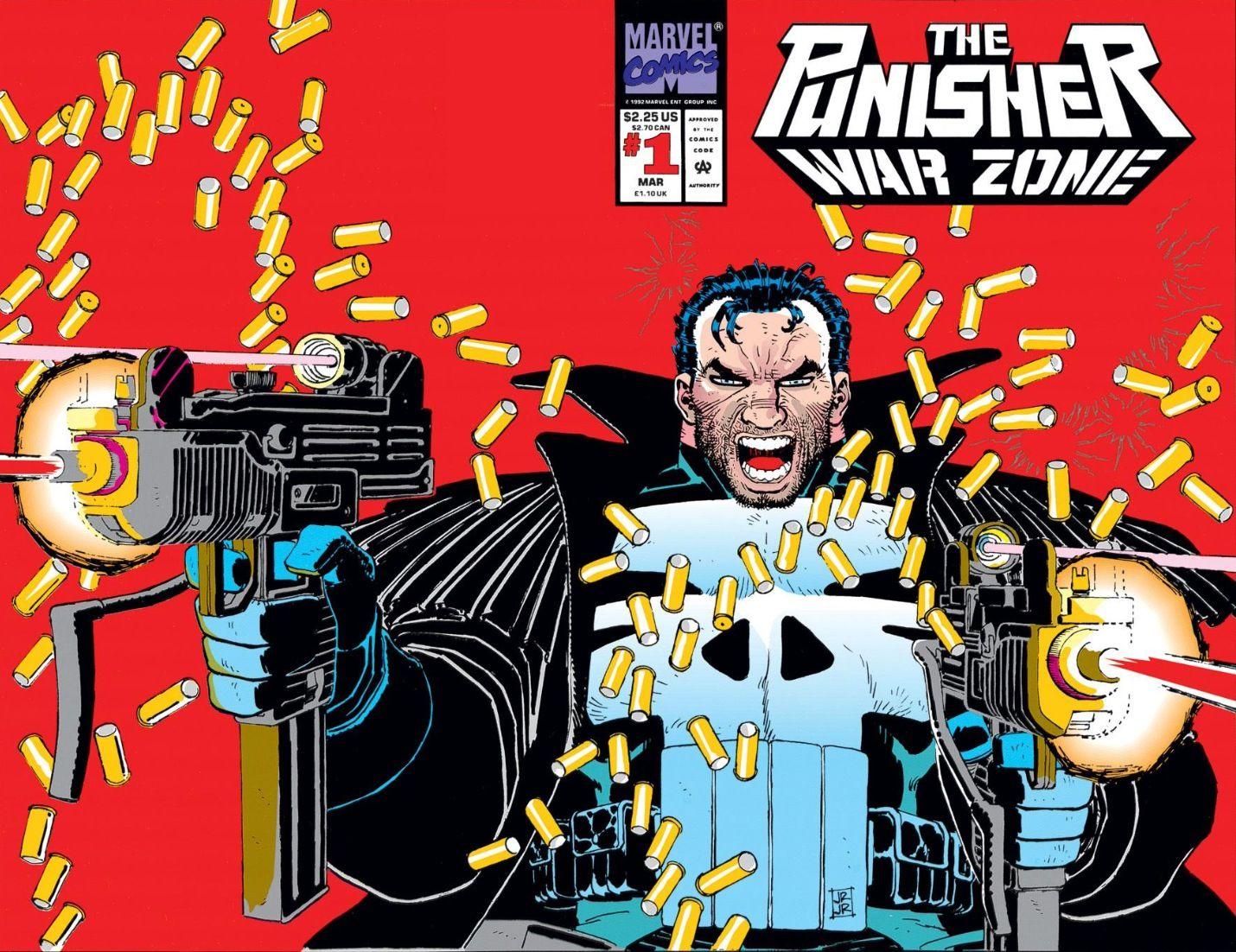 Punisher War Zone # 1 by John Romita Jr.