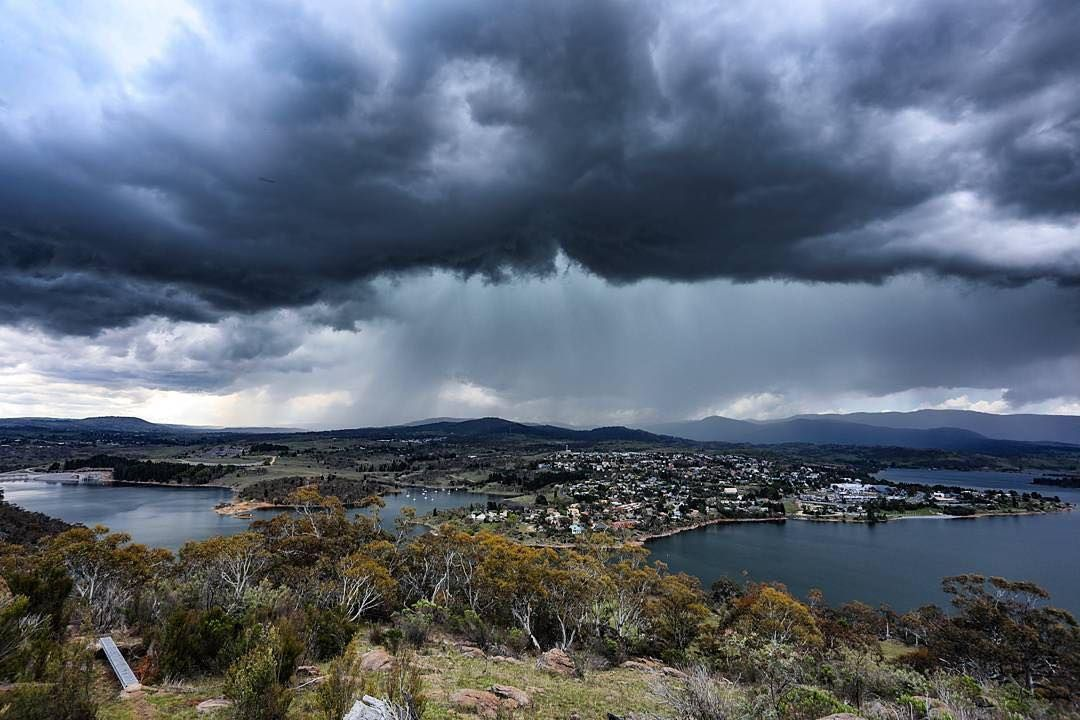 In typical Jindabyne style the sun is shining. but