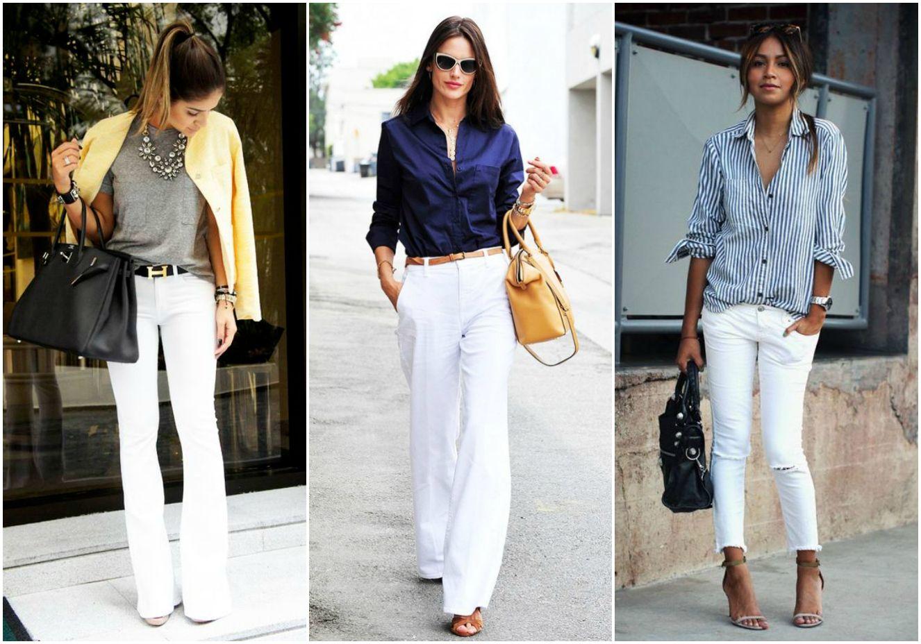 Pílula de moda: Vida nova para a sua calça branca