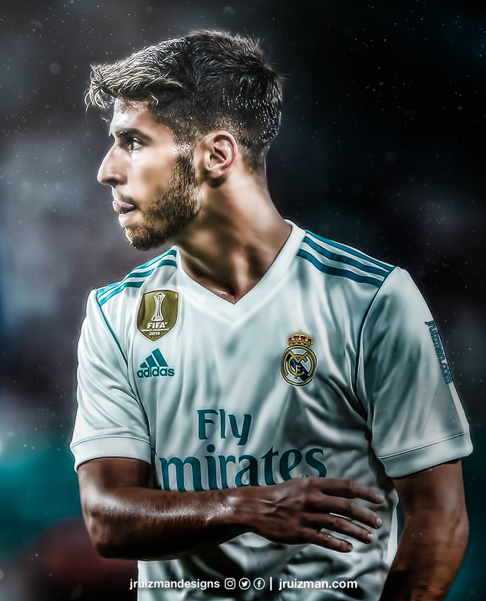 Left Foot Youngster Real Madrid Football Real Madrid Players Asensio