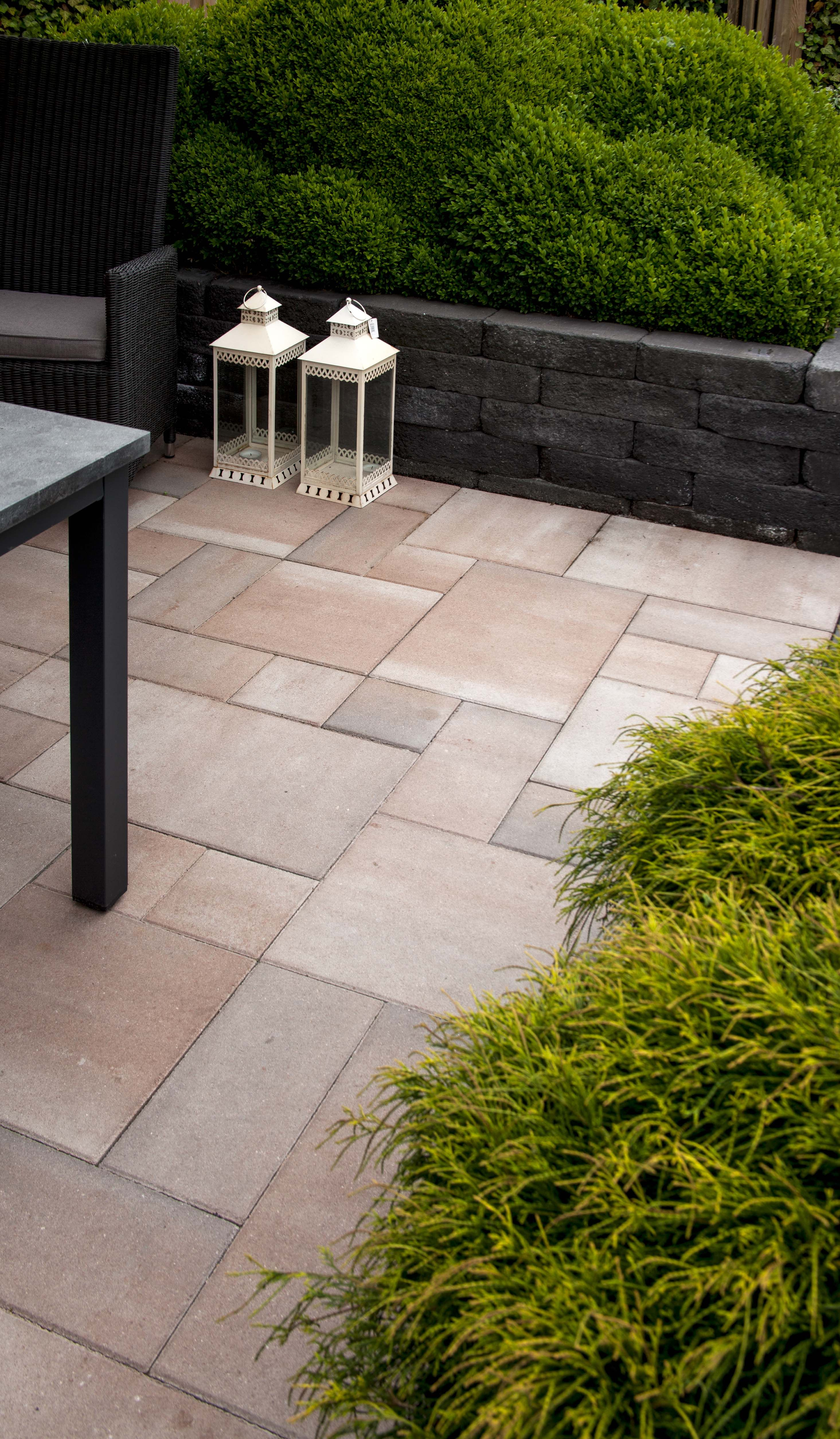 Everton kilimanjaro wildverband muurelementen beton pinterest kleine tuin ontwerpen tuin - Deco kleine tuin buiten ...