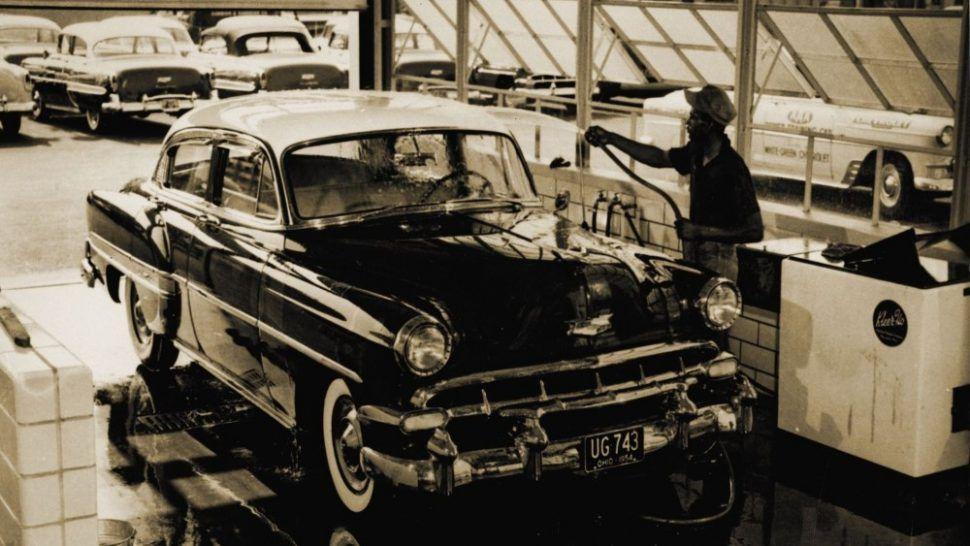 1955 WhiteGreen Chevrolet Dealership, Springfield, Ohio