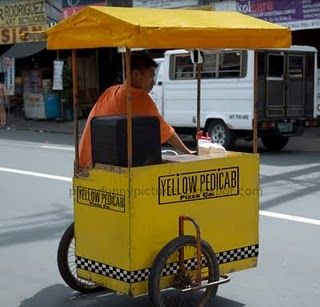 Yellow Pedicab Funny Pictures Filipino Funny Tagalog Pinoy