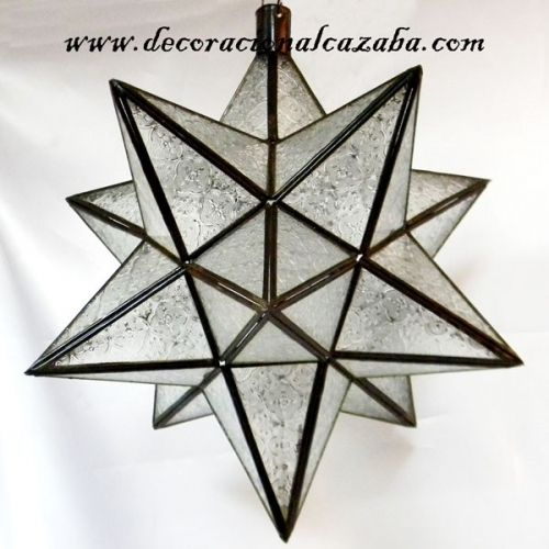 Compra online l mpara estrella de cristal 12 puntas a - Sofas arabes baratos ...