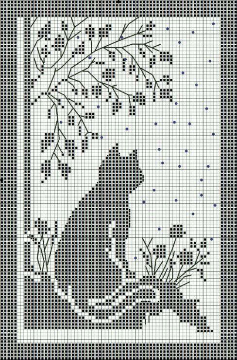 Filet Crochet | punto cruz | Pinterest | Ganchillo, Cortinas y Filete
