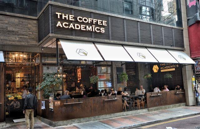 The Coffee Academics Cafe Causeway Bay Hong Kong Desain Kafe Arsitektur Hotel Desain Produk