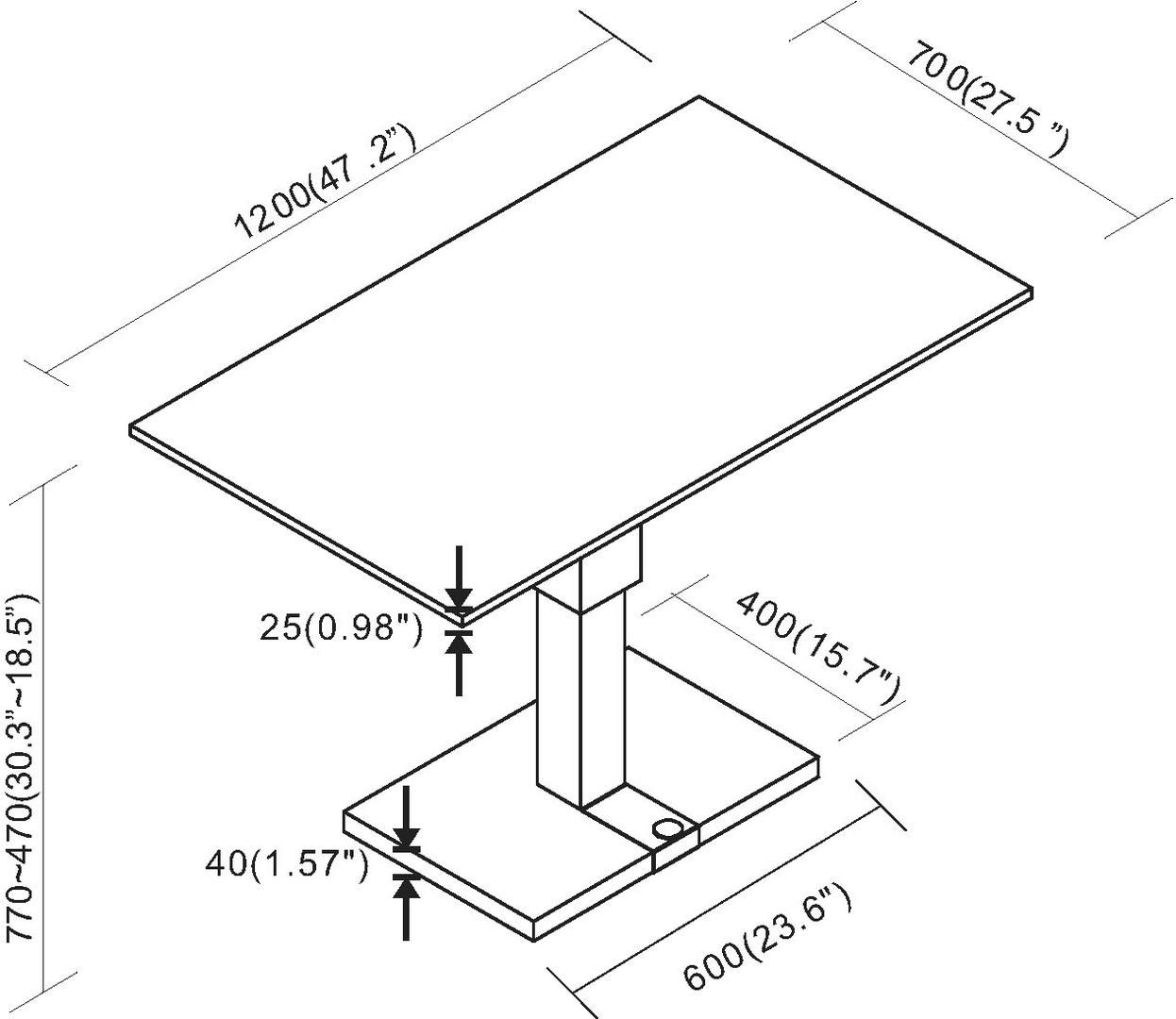 Chintaly 9137ct 851 84 In 2020 Chintaly Table Tops And Bases Wooden Table Top