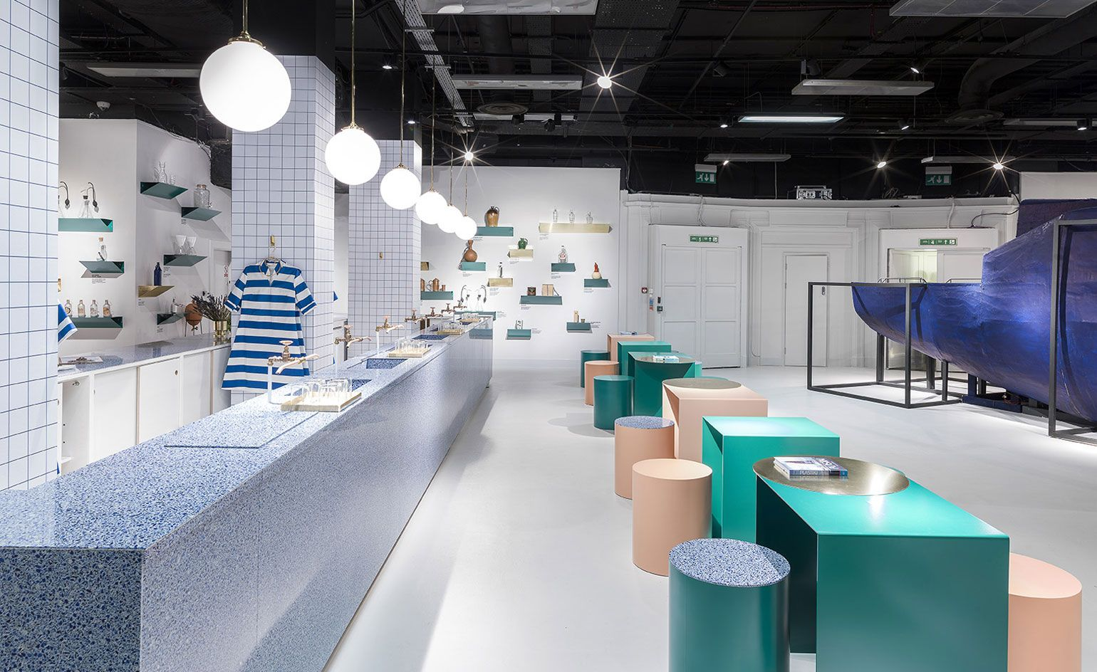 Explore Pop Up Bar Design Department And More