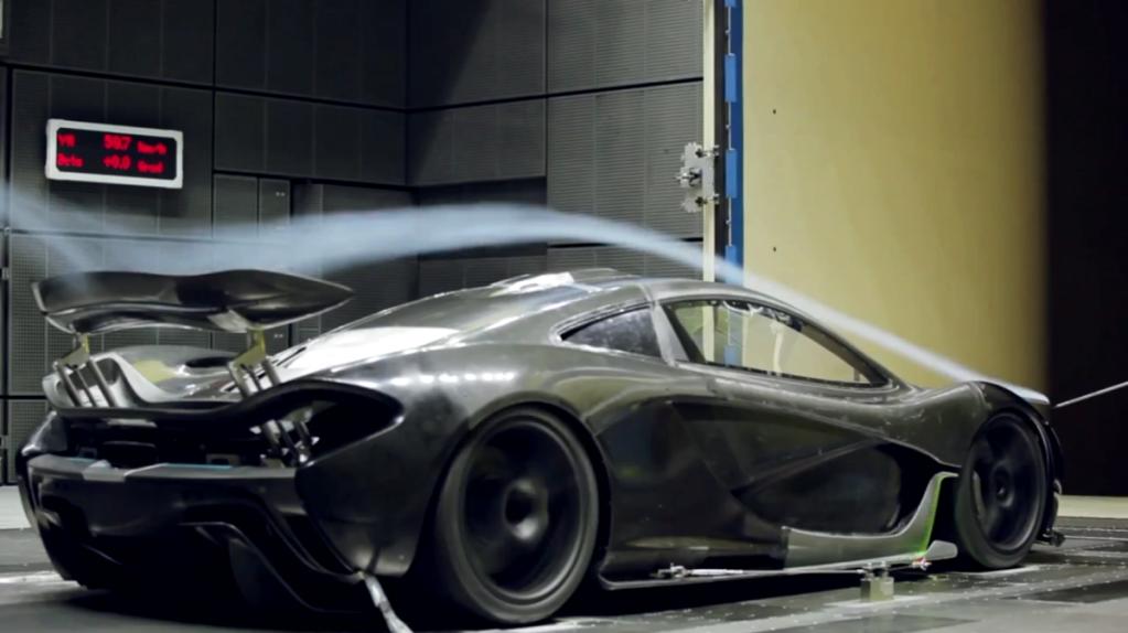 McLaren In The Wind Tunnel