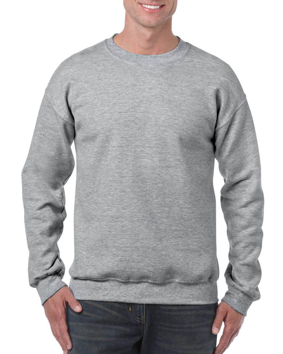 Crewneck Sweatshirt 50 50 Cotton Polyester Sweatshirts Crew Neck Sweatshirt Long Sleeve Tshirt Men [ 1200 x 960 Pixel ]