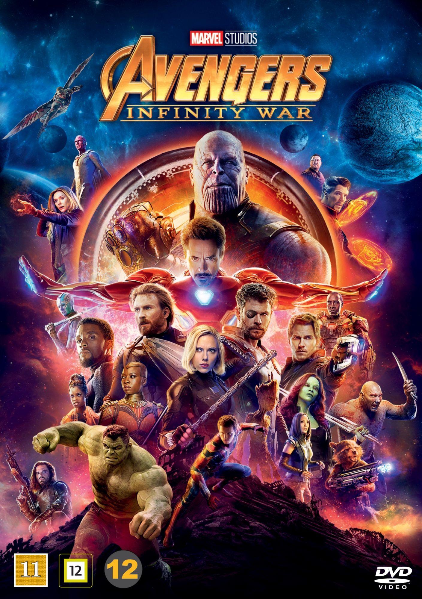 Poster A2 Vengadores Avengers Infinity War Spiderman Gemas Del Infinito Marvel