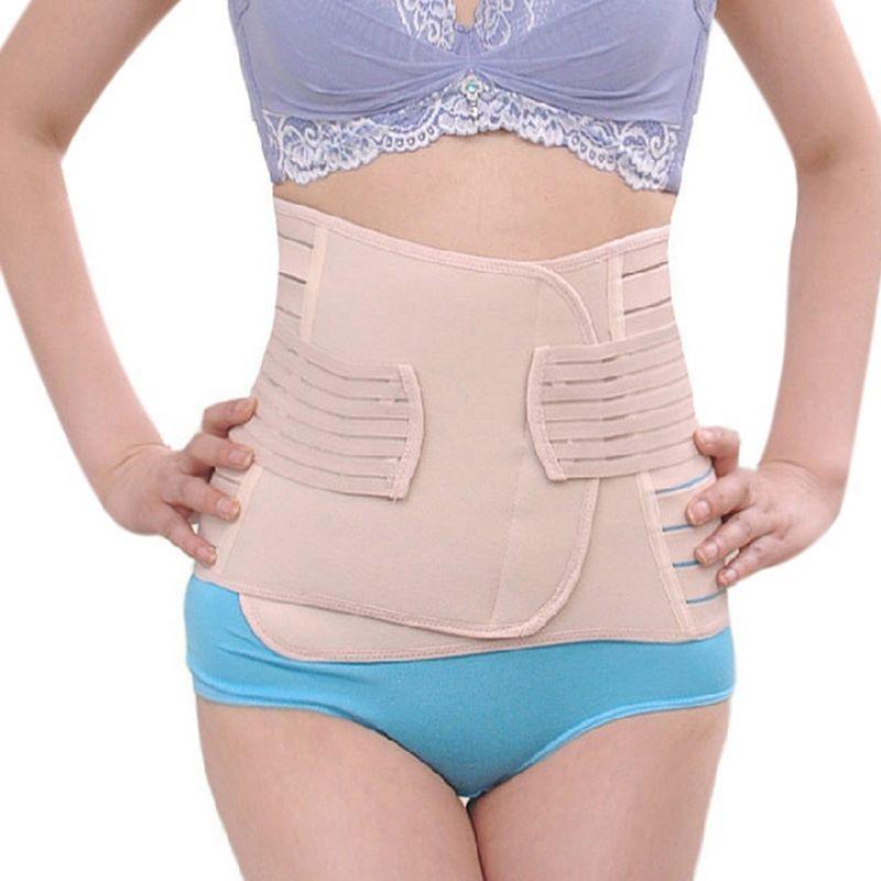48b0024247 Women Waist Cincher Corset Trainer Shapewear Postpartum Body Shaper Stretch  Band