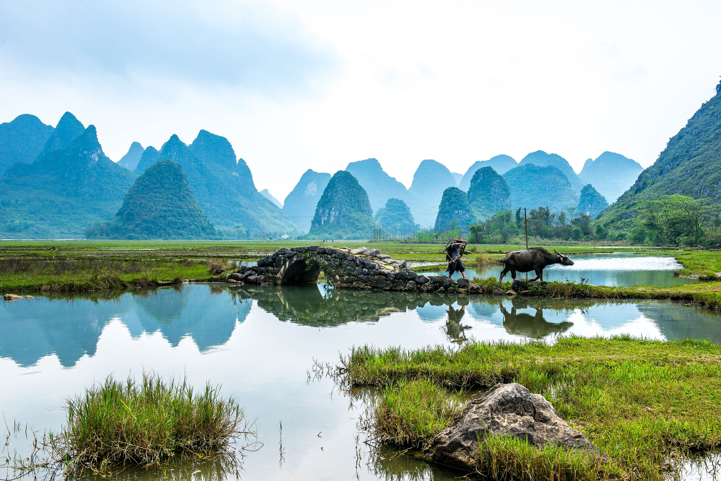 Tianxin Village in Guilin China | Chinese Landscapes