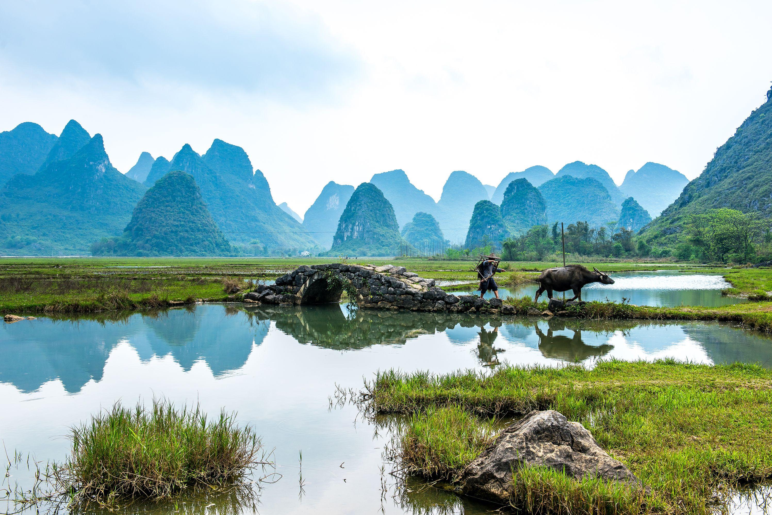 Tianxin Village In Guilin China K 237 Na Guilin China