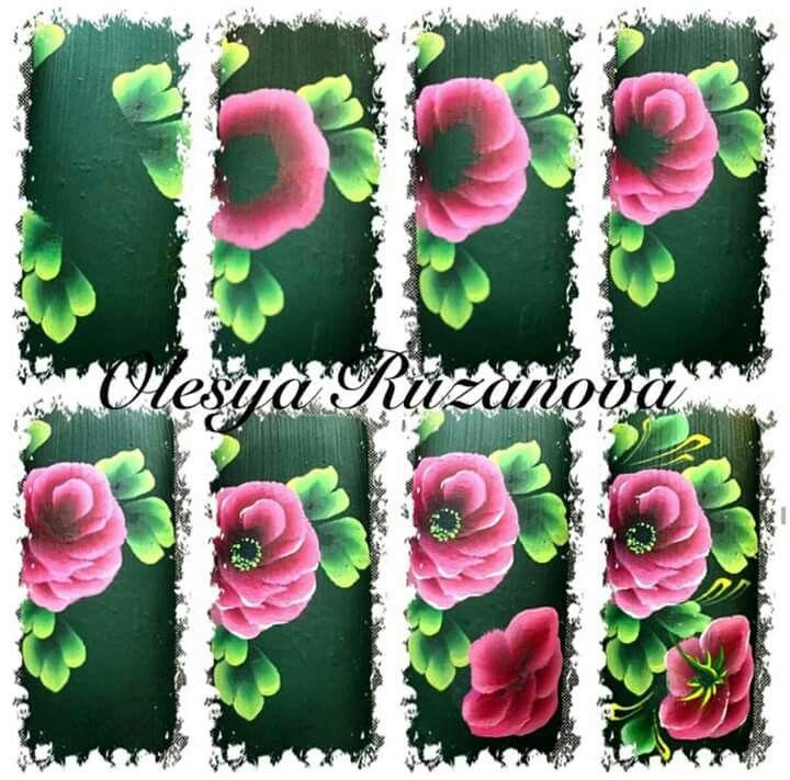 Flores | Screenshots | Pinterest | Flores, Pinceladas y Mano alzada