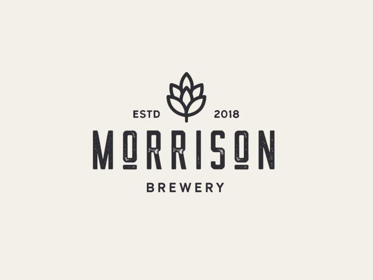 Design Flat And Minimalist Logo For Your Business In 2020 Font Design Logo Beer Logo Design Brewery Logo Design