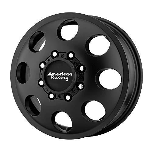 American Racing Baja Dually Front 17x6 5 8x200 Black Best Price Oempartscar Com American Racing Black Wheels Racing