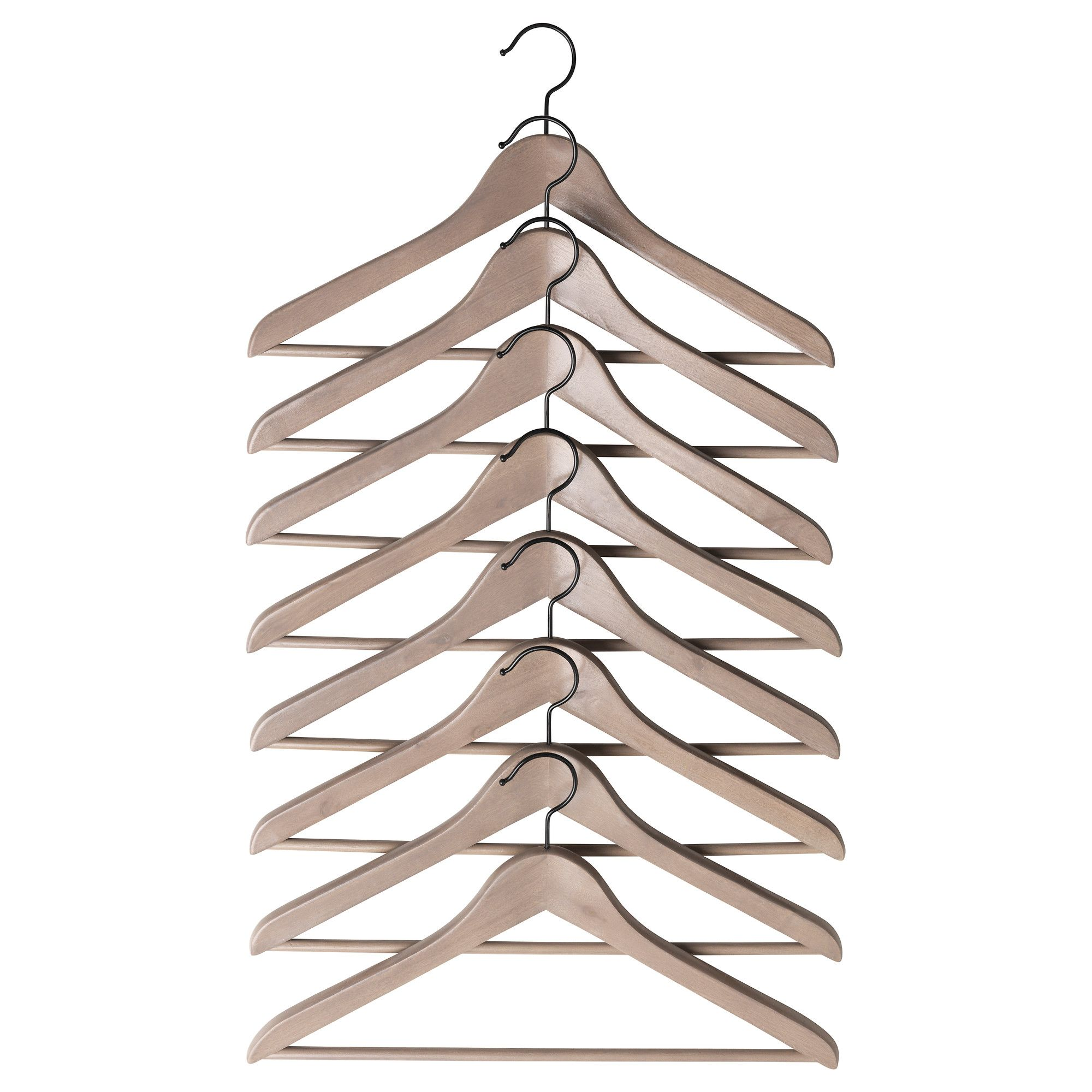 BUMERANG Curved Clothes Hanger   Grey/brown   IKEA I Cannot Stress Enough  The Difference That Proper Hangers Will Give Your Wardrobes.