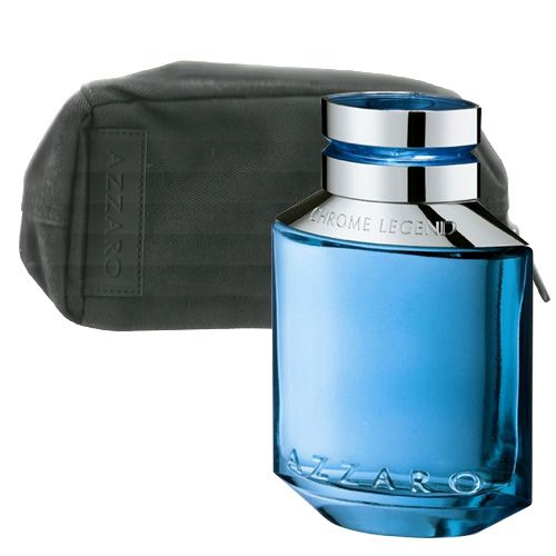 78ff4617a5 Época Cosméticos Perfumaria. Azzaro Chrome Legend Coffret Perfume masculino  Edt amadeirado refrescante