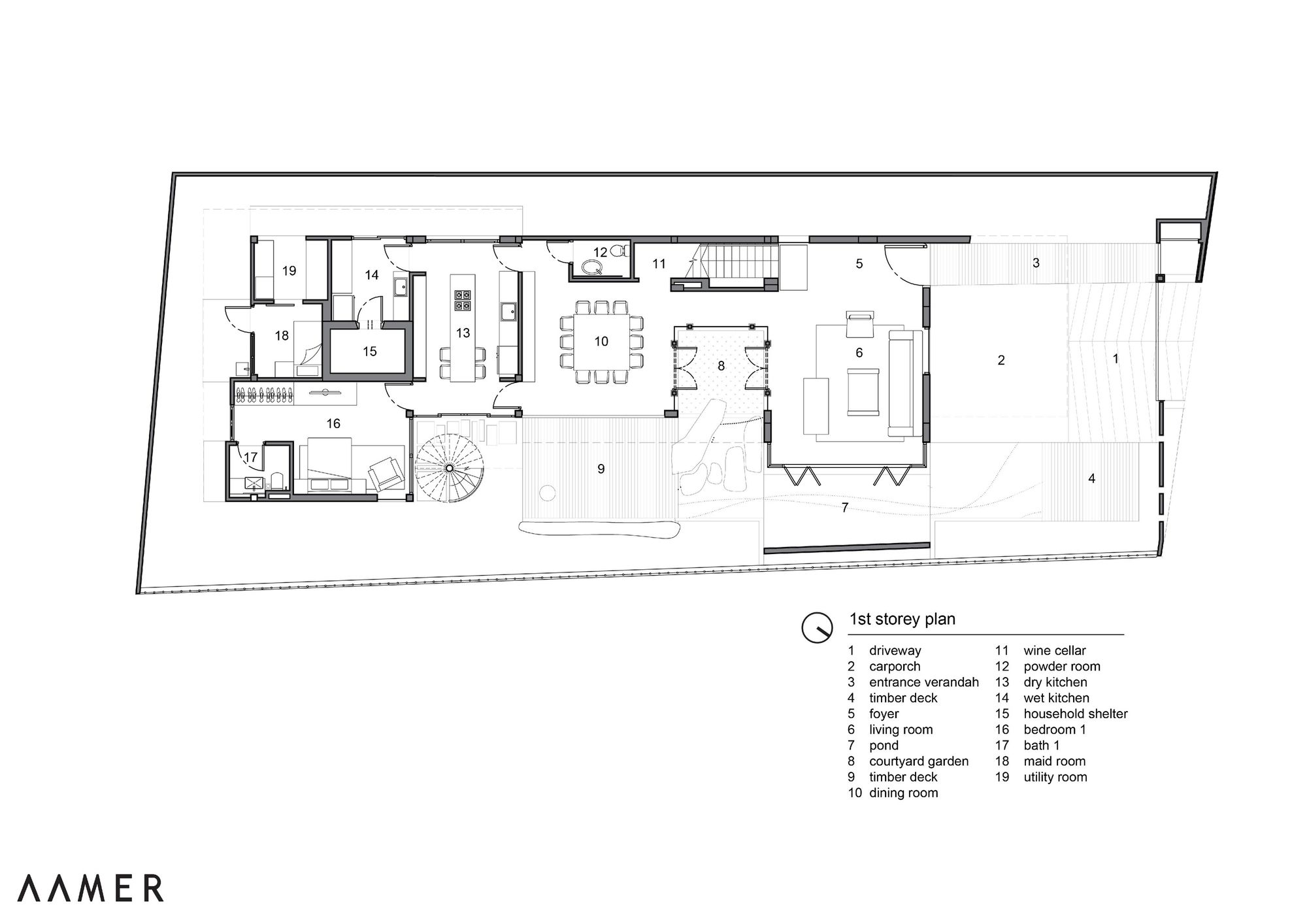 Gallery Of Merryn Road 40ª Aamer Architects 35 Architect House Architecture Design How To Plan