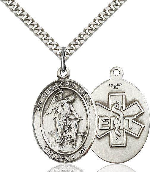 """Guardian Angel / EMT Sterling Silver 1"""""""