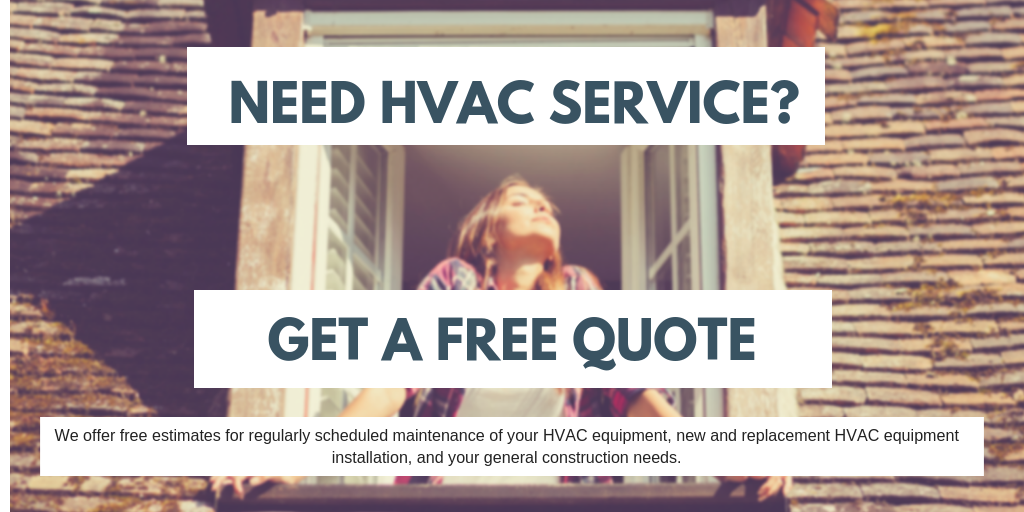 We offer free estimates for regularly scheduled