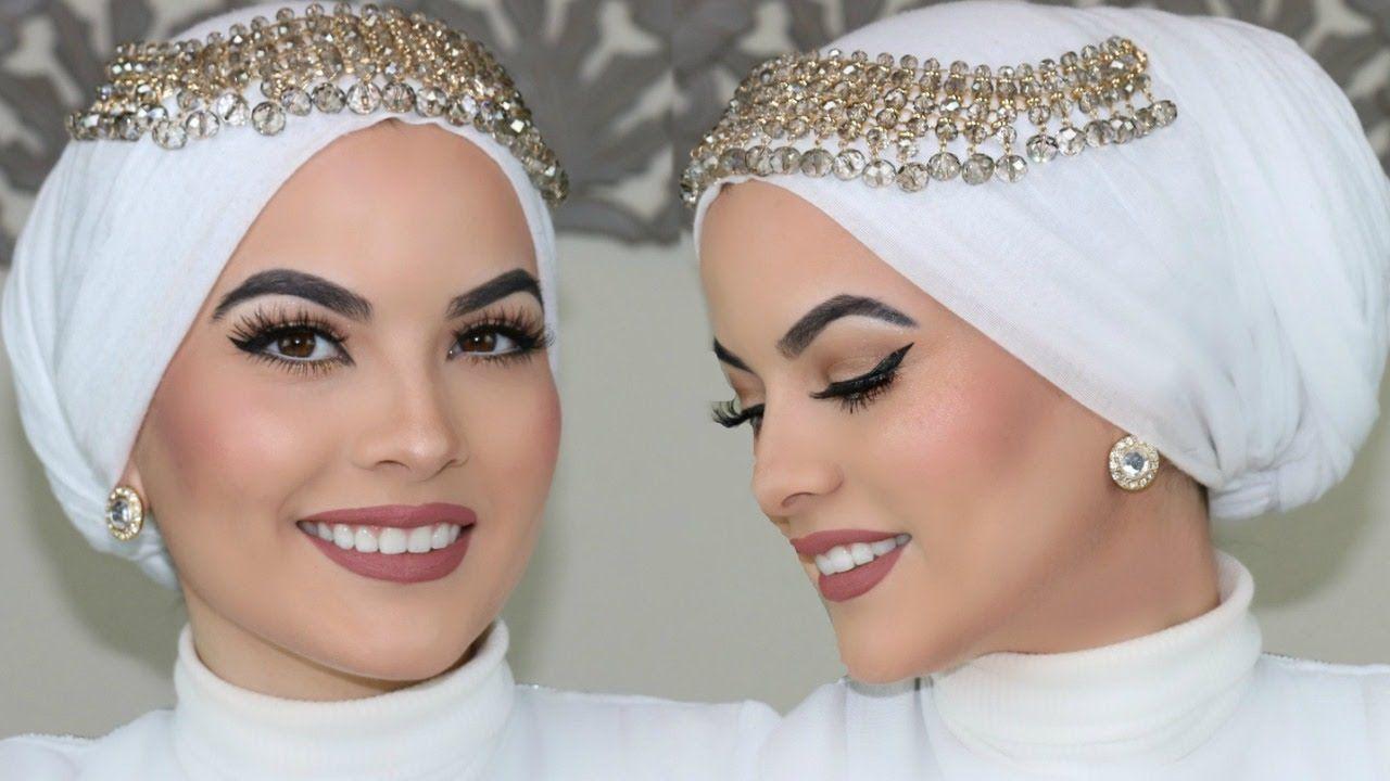 WEDDING HIJAB TUTORIAL UPDATED Hijab Pinterest Wedding Hijab