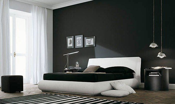 Jeffrey S Future Bedroom Home Room Design Black White Bedrooms