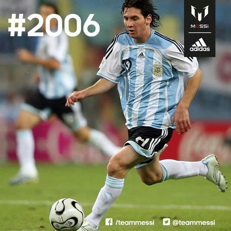 Lionel Messi Argentina 2006 Sport