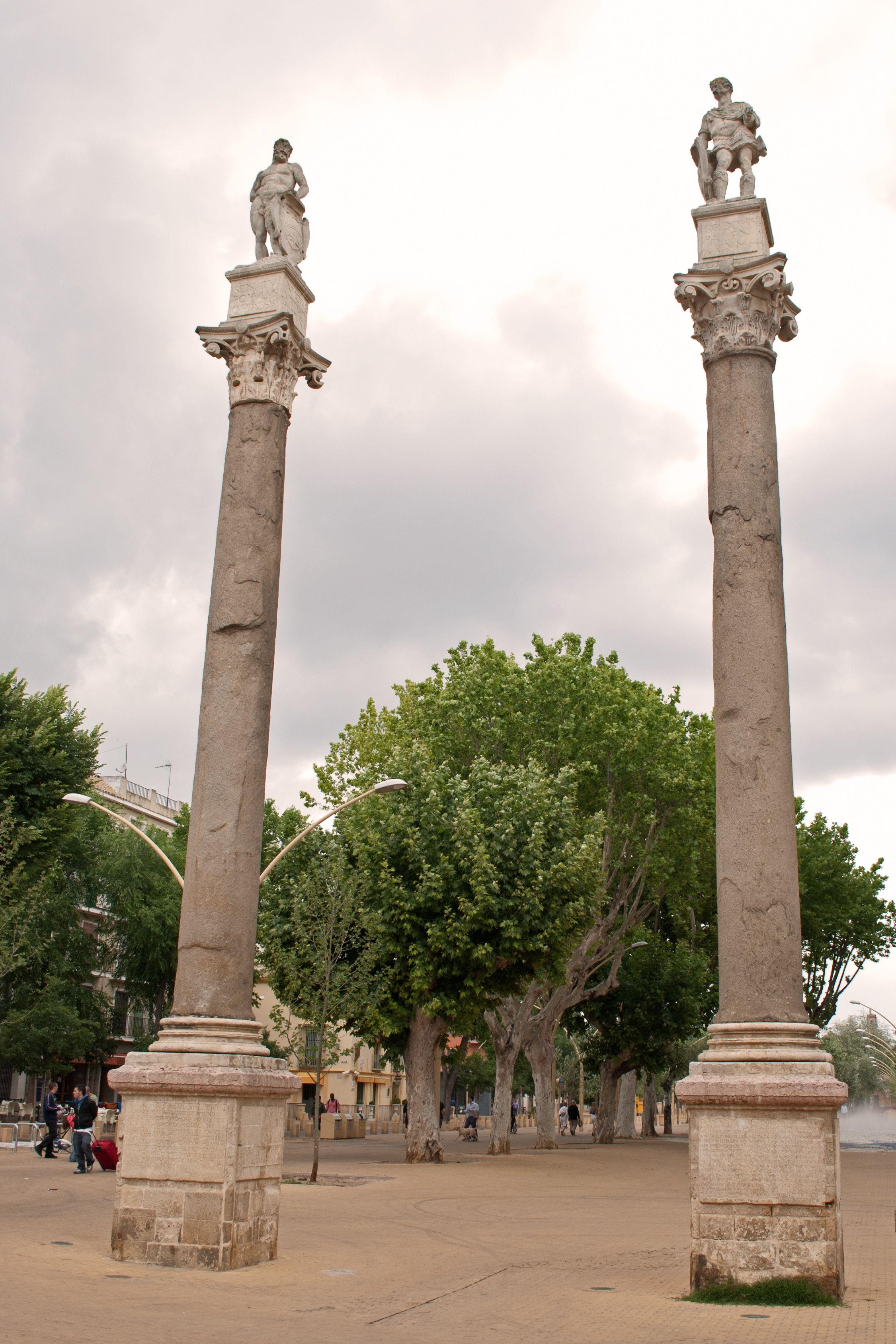 Columns Of Hercules And Julius Caesar Alameda Hercules