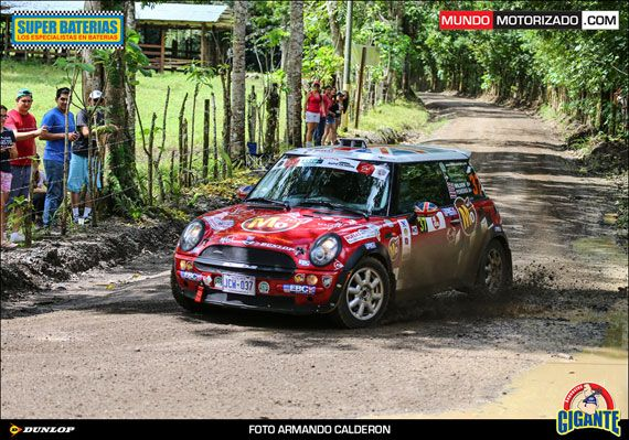 Chris Wilson gained a well-deserved trophy with EBC rally car brakes. Chris Wilson gained a 1st place win in the N2 Class NACAM FIA championships.