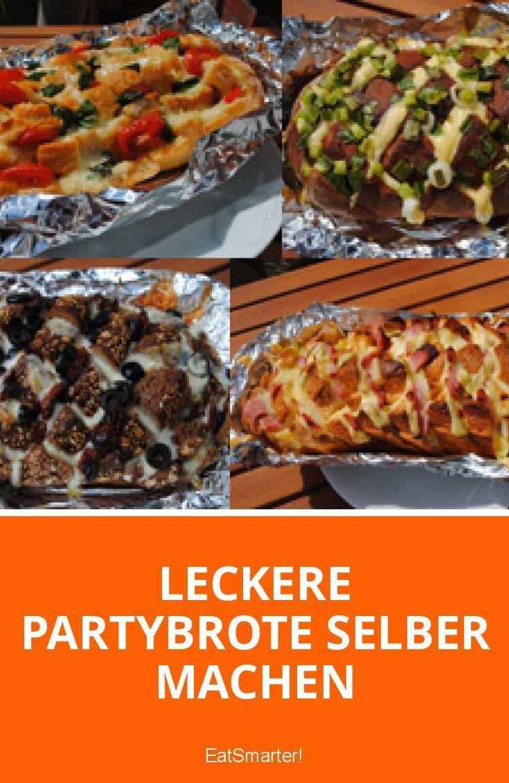 Leckere Partybrote selber machen I eatsmarter.de