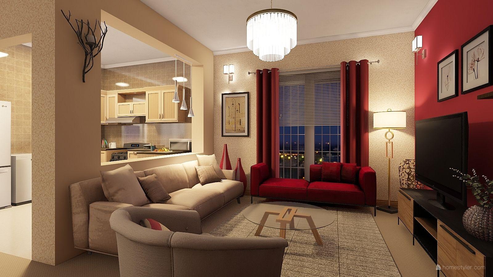 Living Room Design By Srishti Katoch 3d Home Design Software