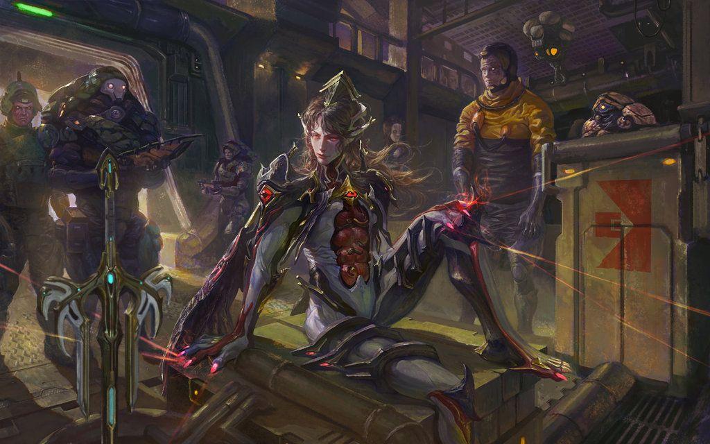 Warframe Nekros Prime By Xiaobotong On Deviantart Scenes In 2019